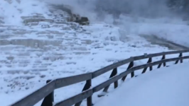 First Significant Snow Falls at Yellowstone
