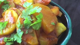 Spicy Zucchini Curry