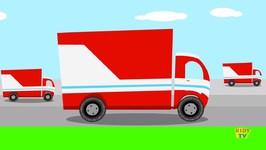 Trucks Rhyme - Nursery Rhyme - Kids Song - Kids Tv Nursery Rhymes For Children - Videos For Toddlers
