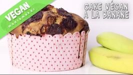 Cake Vegan à La Banane