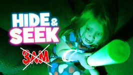Hide And Seek Glow Edition Parent Vs Kid Not 3Am No Evil Chuck E Cheese