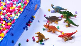 Surprise Box Opening - Fun Learning By Happykids - Dinosaur
