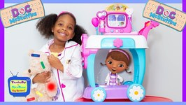 Doc McStuffins Boo Boo Story  Toy Hospital Care Cart with Kyraboo
