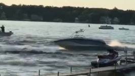 Runaway Boat On Indiana Lake Leaves Four Injured
