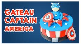 Gâteau Captain America - Cake Design
