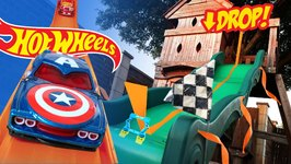 Hot Wheels Long Jump Challenge Ft Marvel Superheroes Hot Wheels Cars