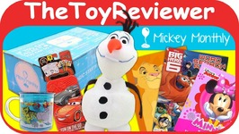 Disney Subscription Box July 2017 Mickey Monthly Original Magic Unboxing Toy Review