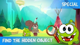 Find the Hidden Object Ep17 - Om Nom Stories- Woods Chase