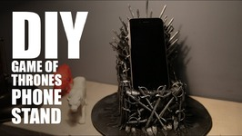 DIY Iron Throne Phone Stand  Game Of Thrones