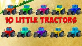 Ten Little Tractors