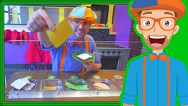 Blippi Learns at the Children's Museum