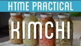 Fermenting White Kimchi  HTME Practical  How to Make Everything