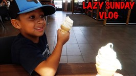 LAZY SUNDAY - McDONALD'S BREAKFAST - DandD SQUAD VLOGS