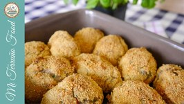 Baked Tuna Croquettes With Fresh Dill