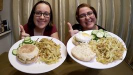 Breakfast For Dinner / Gay Family Mukbang - Eating Show
