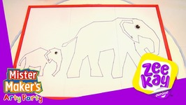 Dot-To-Dot Elephant - Mister Maker's Arty Party