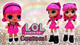 MLP Custom Madame Queen LOL Surprise Doll Big Sister Tutorial DIY
