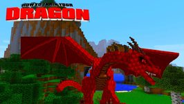 Minecraft - HOW TO TRAIN YOUR DRAGON - Brand New Dragons! 48
