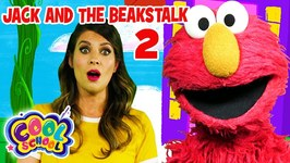 Elmo and Ms. Booksy Read Jack and the Beanstalk Part 2 - Story Time with Ms. Booksy