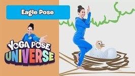 Eagle Pose - Yoga Pose Universe
