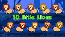 Ten Little Lions