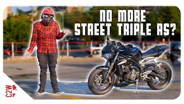Triumph's taking back their Street Triple RS