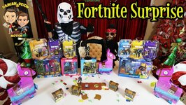 FORTNITE SURPRISE - BIGGEST FORTNITE COLLECTION - D and D SQUAD