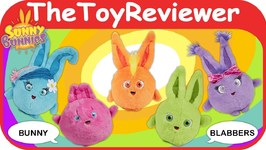 Sunny Bunnies Bunny Blabbers Funrise Plush Talking Rabbit Cute Unboxing Toy Review
