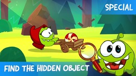 Find the Hidden Object Ep 1 - Om Nom Stories - Little Red Hungry Hood