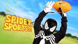 Spider-Man Powers Super Hero Sports Gear Test For Kids