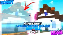 Minecraft Challenge Underwater Invisible House V S Block House