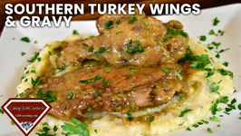 The Best Southern Smothered Turkey Wings And Gravy