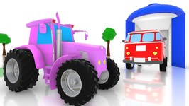 Colors for Kids - Learn with Street Vehicle Videos - Cartoons by Kids Channel