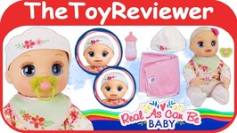 Baby Alive Real As Can Be Baby Doll Welcome Home Baby Box Unboxing Toy Review