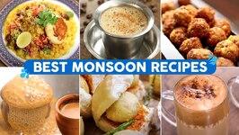 Best Recipes for Monsoon Cravings/ Vada Pav/ Filter Coffee/ Ragada Pattice/ 7 Tasty Foods