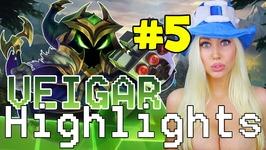 ESCAPIST ANNIE - Veigar Highlights 5 League of Legends