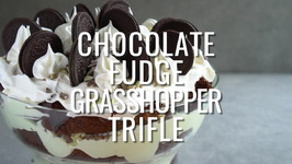 Chocolate Fudge Grasshopper Triffle
