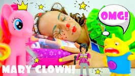 Best Funny Videos For Kids And Kid's Games With MARY CLOWN