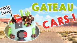 Gateau Cars Flashmcqueen / Cake Design