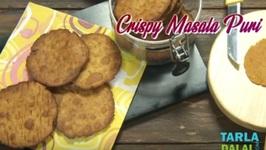 Crispy Masala Puri - Jar Snack - Tea Time Recipe - Hindi