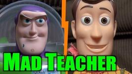 Toy Story 4 Mad Teacher - Woody Buzz Lightyear