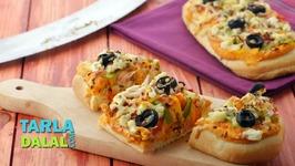 Mediterranean Pizza - Lebanese Pizza
