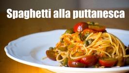 Espagueti Puttanesca