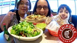 Chipotle Burritos And Burrito Bowl / Gay Family Mukbang - Eating Show