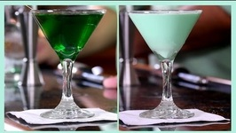 2 Saint Patrick's Day Drinks- Grasshopper v.s. Everybody's Irish Cocktail