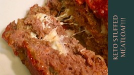 Keto Stuffed Meatloaf