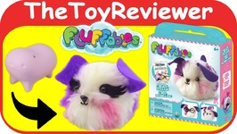 DIY Fluffables Nugget Craft Kit Create Fluffy Mini Pet Single Unboxing Toy Review