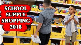 SCHOOL SUPPLY SHOPPING 2018 - D and D SQUAD