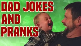 Dad Jokes And Pranks - Funny Dad Compilation