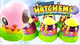 Mashems Hatchems Baby Birds - Hatch And Grow Toys For Easter Baskets